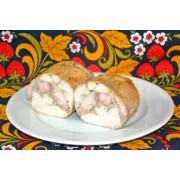 Пирог с семгой